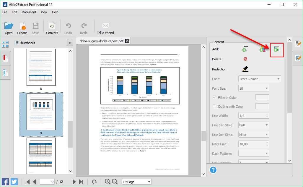 Adicionar Imagem para PDF