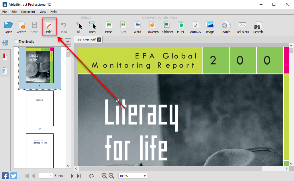 How to edit a pdf the ultimate step by step guide for 2018 enter pdf editing mode ccuart Gallery