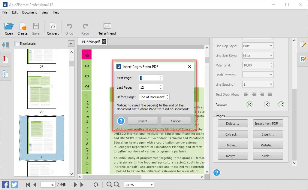 Mesclar documentos PDF