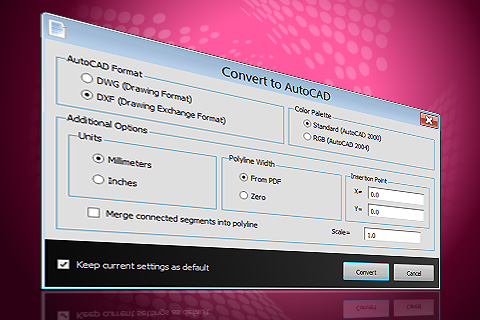 drawing to pdf converter software free