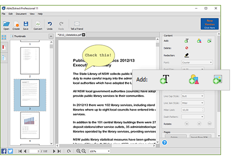 Add Content To Existing PDF Pages