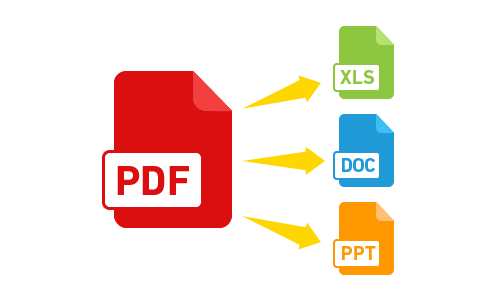 PDF to MS Office