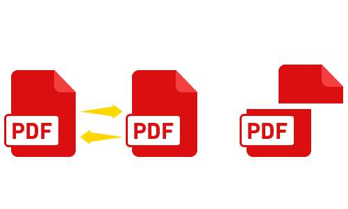 Extract and merge PDF