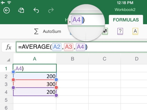 Basic Tips for Working in Excel for iPad