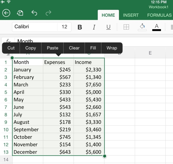 Creative Excel Charts