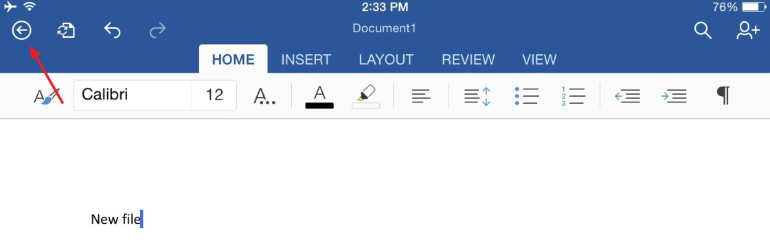 How to Save MS Office Documents Locally on Your iPad