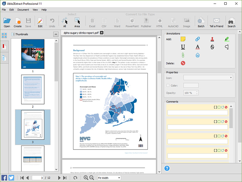 Create, edit, convert PDF to Excel & More