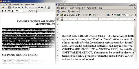 PDF Conversion Without Text Boxes