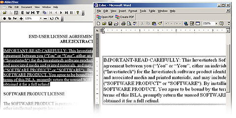 PDF Conversion With Text Boxes