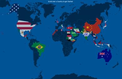 The World Social Networking Ban Race Interactive Map Updated