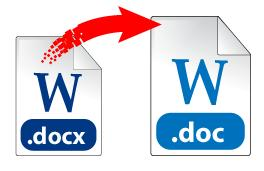 DOC to DOCX converter
