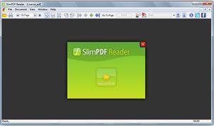 Slim PDF Reader Screenshot