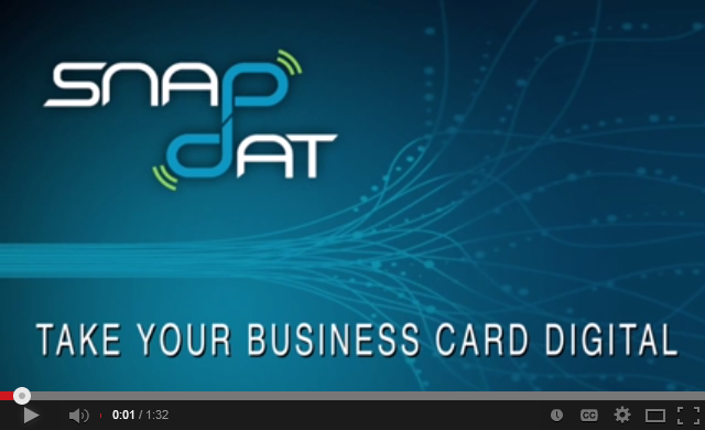 10 ways to create manage and share digital business cards snapdat digital business cards reheart Images