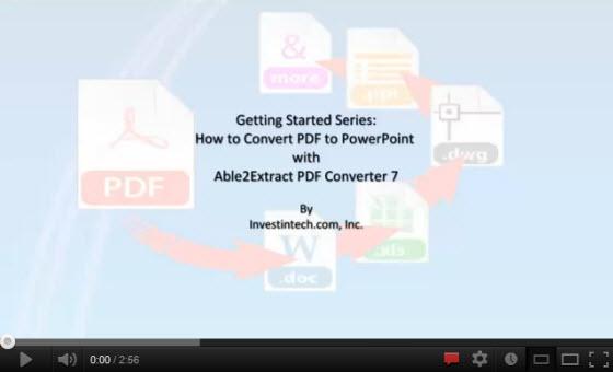 PDF to Power Point Tutorial