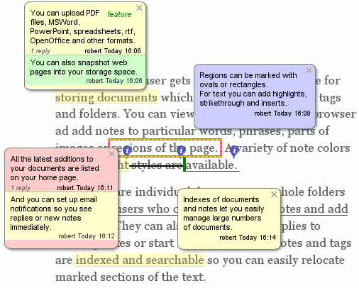 word annotations how to change