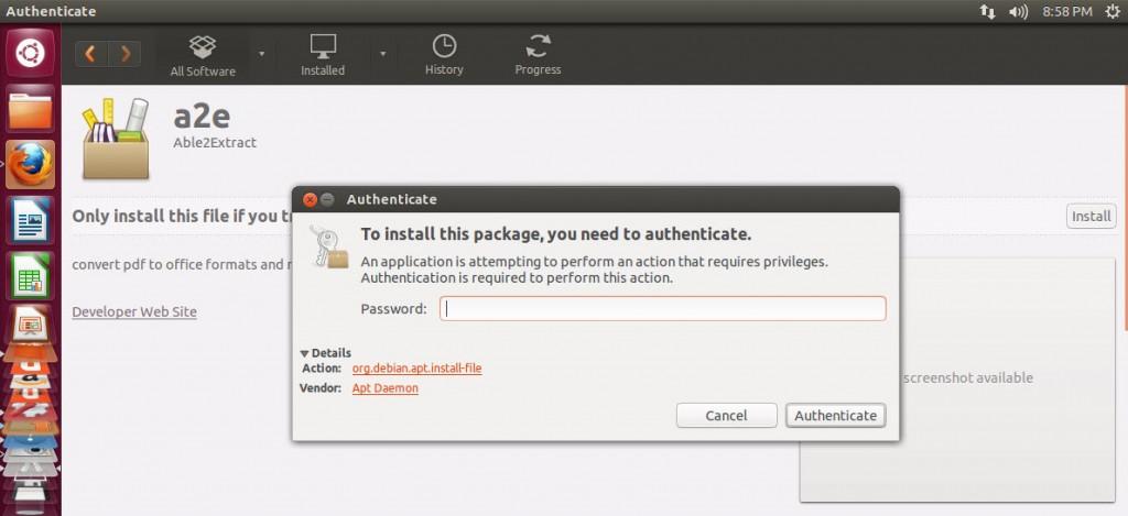 Installation guide for ubuntu pdf converter