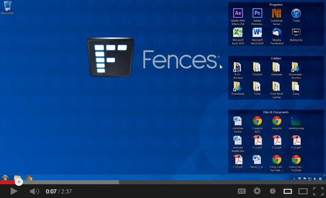 Fences Video Demo