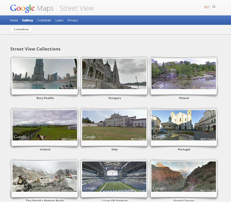 Google Street View Collection