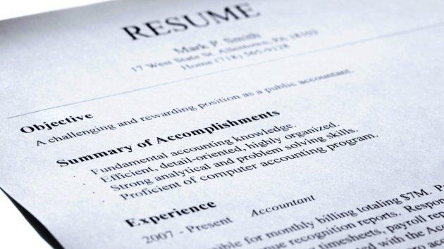 Classic Job Resume