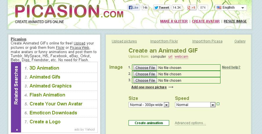 Picasion Image Uploader