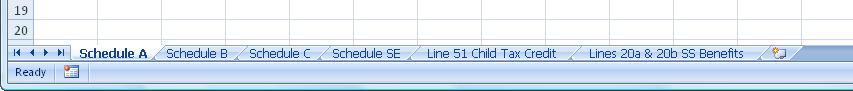 Excel Worksheet Names