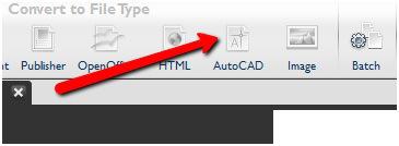 Converting PDF to AutoCAD