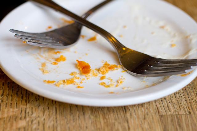 Fork Plate Crumbs