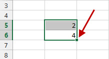 Excel Data Patterns