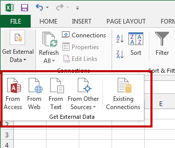 Importing Data to Excel
