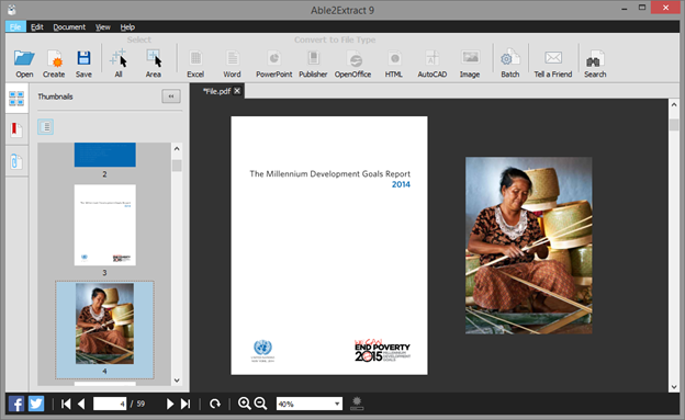 Resizing PDF Pages