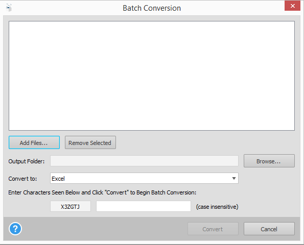 Automating Batch PDF Conversion