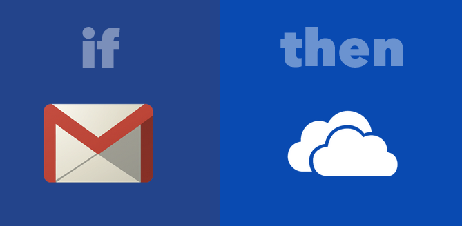 Save Gmail Attachments IFTTT