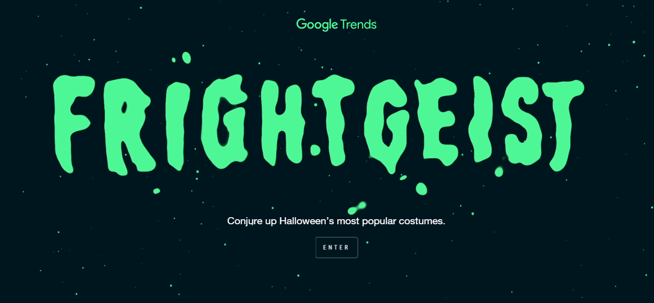 FrightGeist Google Search