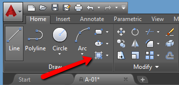 Using Autocad Hatch Command