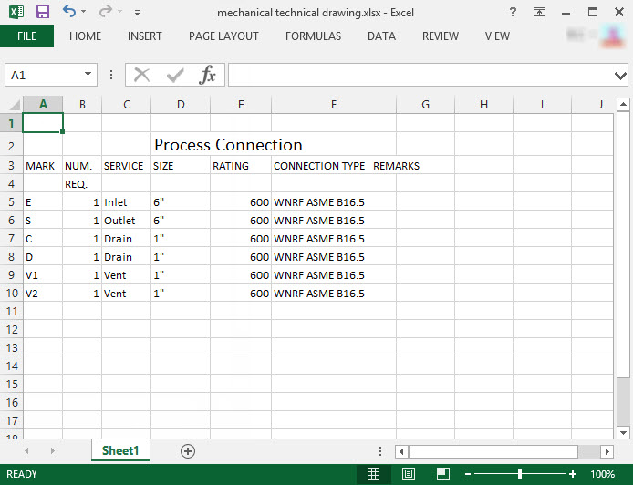 PDF To Excel Results