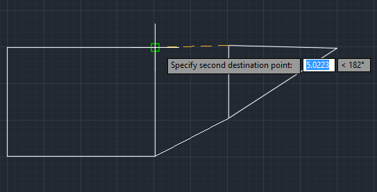 Specifying Second Destination Point