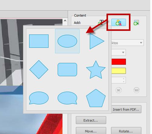 Adding Vector Graphics PDF