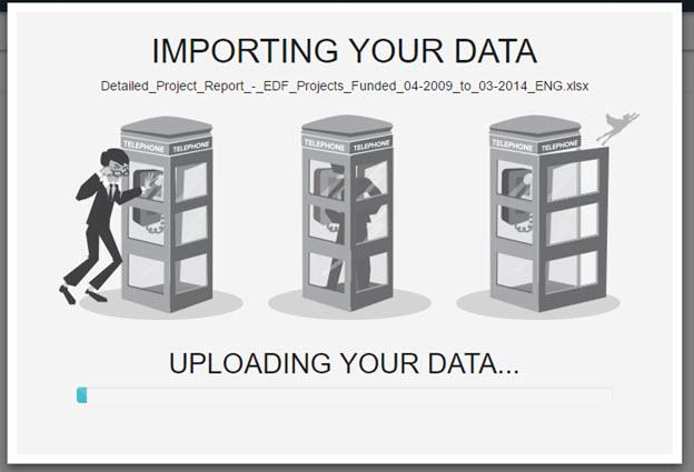 Uploading Data with Datahero