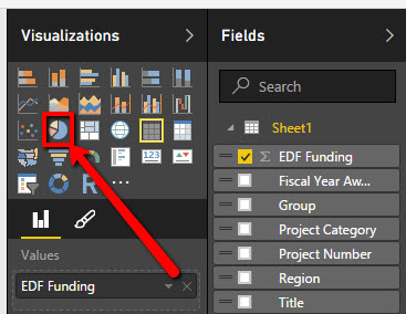 PowerBI Data Visualization Selection