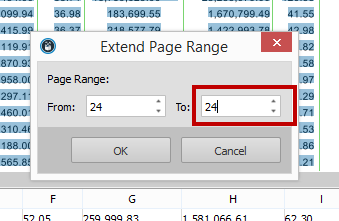 Extending Page Range In Able2Extract