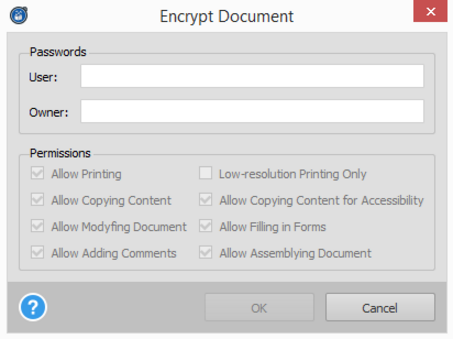 Enhanced PDF Security
