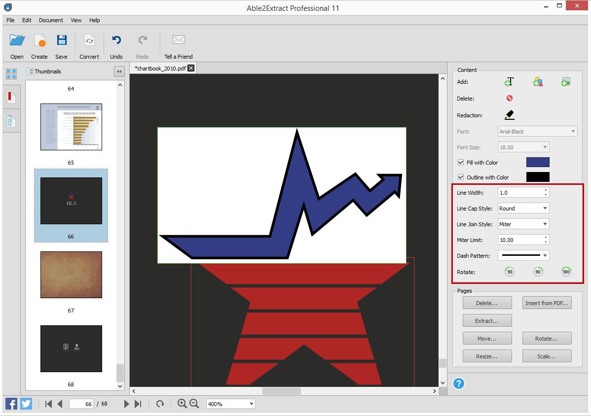 PDF Text Vector Editing