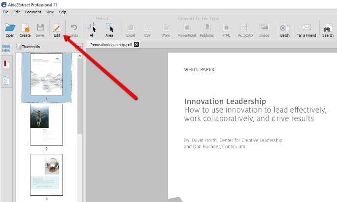 Edit PDF Page Sizes