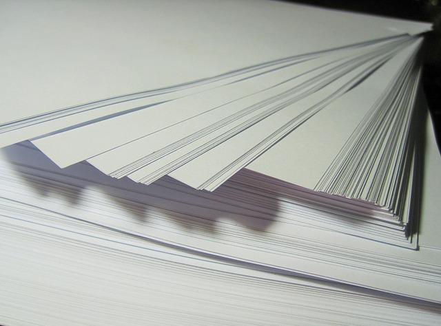 Letter Size Bond Paper