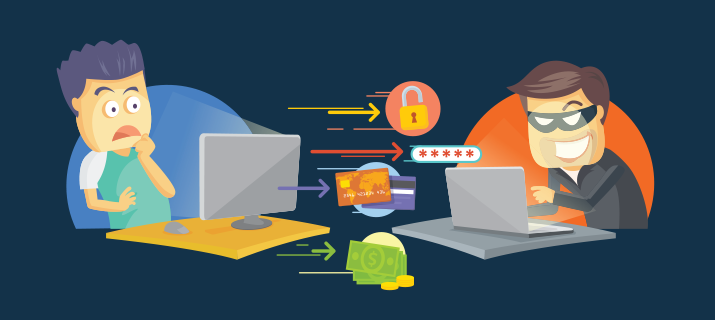 Click Fraud Illustration