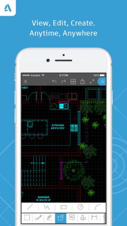 Autocad 360 App