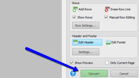 Converting Custom PDF to Excel