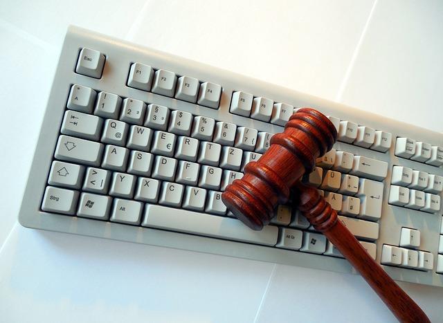Gavel With Keyboard