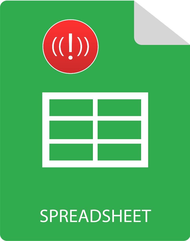 Spreadsheet flaws