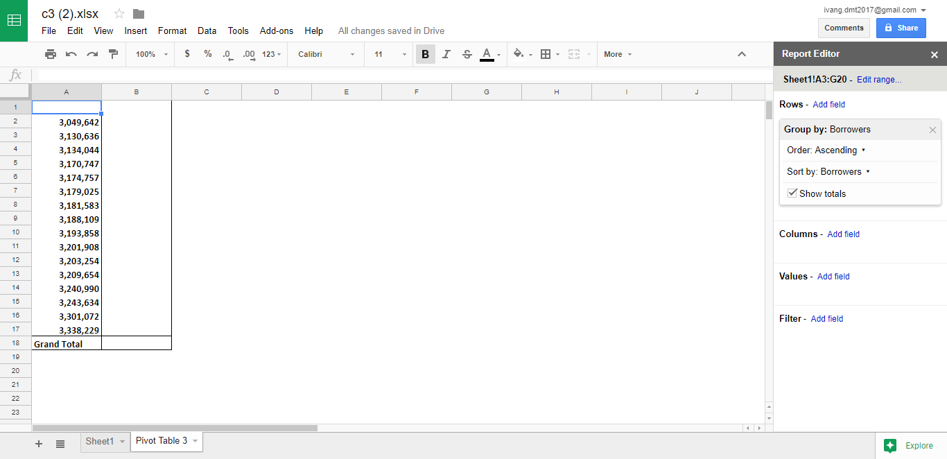How to work with pivot tables in google sheets google sheet report editor gamestrikefo Gallery